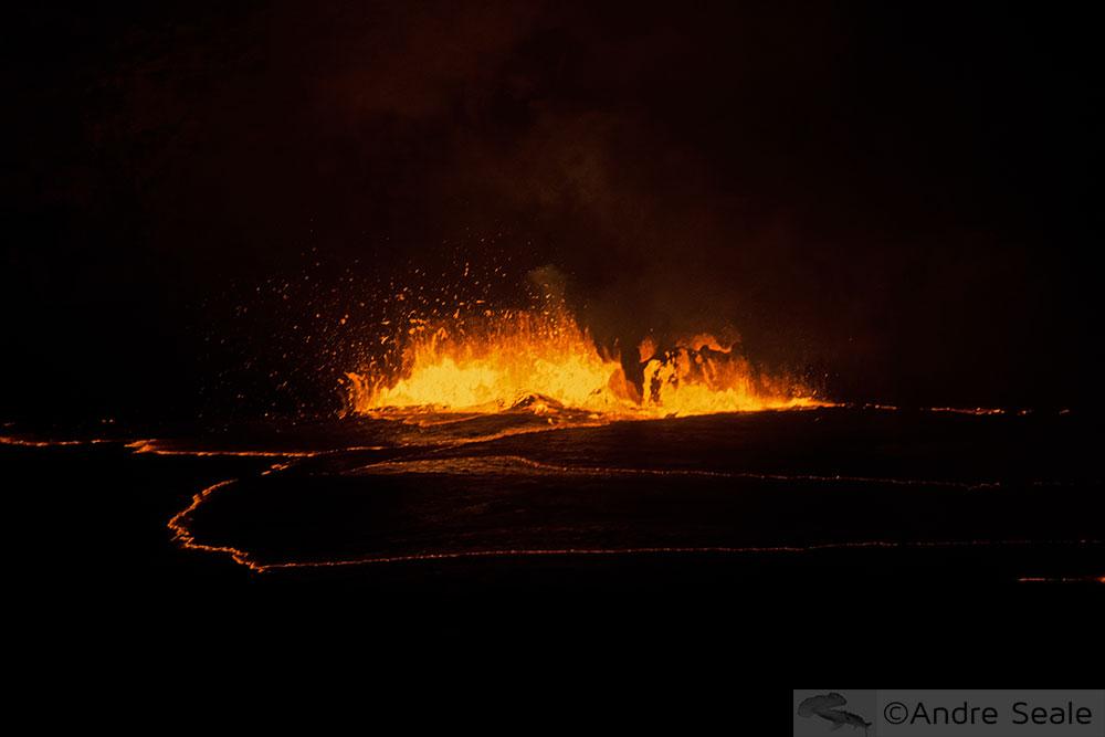 Som do vulcão Kilauea