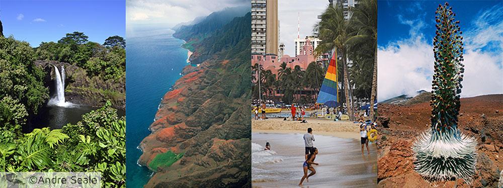 Melhor sequência de ilhas para visitar o Havaí