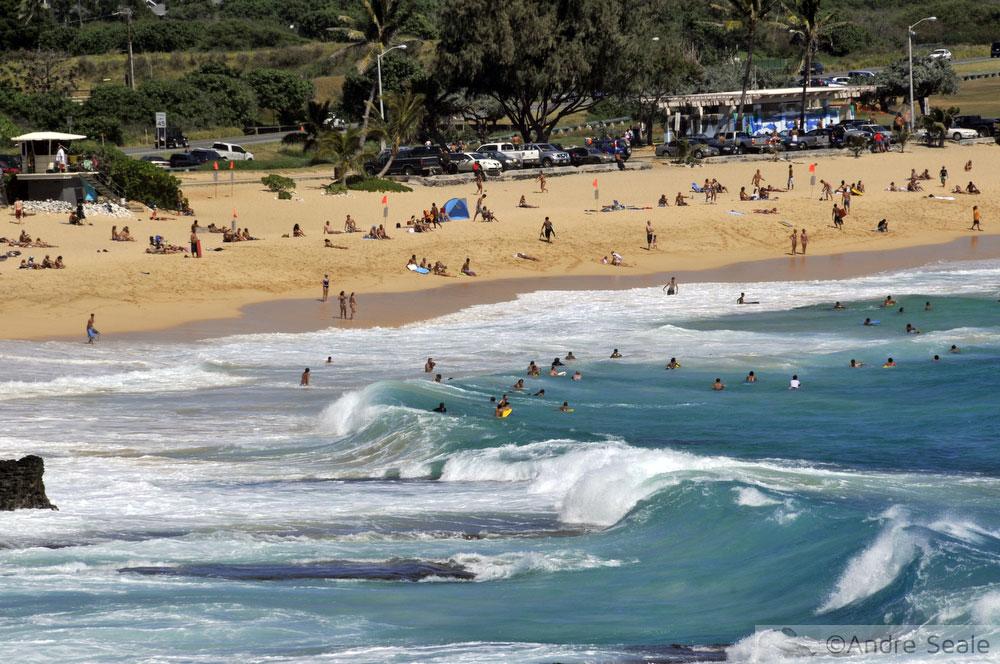 Ilhas do Havaí - Oahu Sandy Beach