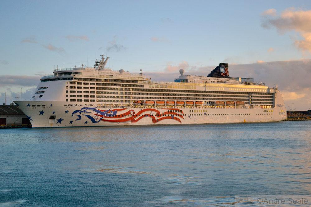 Cruzeiro no Havaí - Pride of America - Norwegian Cruise Line