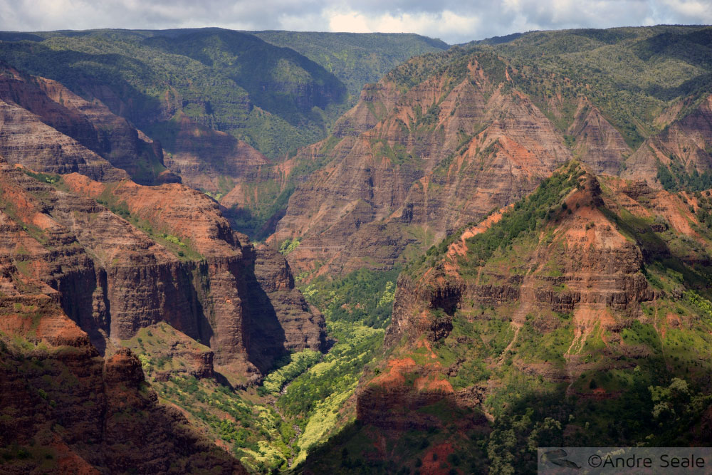 A melhor sequência de ilhas para visitar o Havaí - Waimea Canyon - Kauai