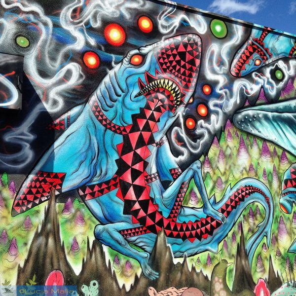 Kaka'ako - Mural de tubarão