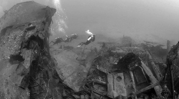 Sexta Sub: mergulho no naufrágio Mahi