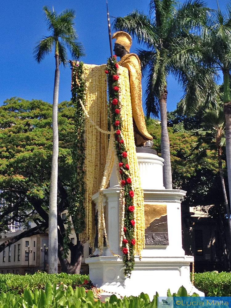 Dia do Lei - Rei Kamehameha - Havaí
