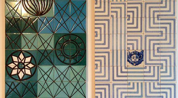 No Museu do Azulejo em Lisboa