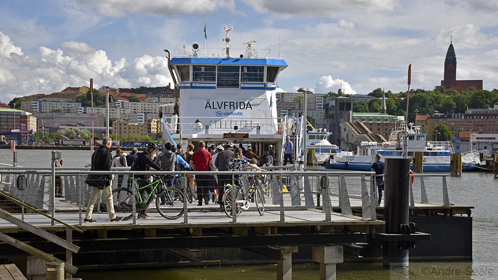 Ferry de Gotemburgo - Suécia