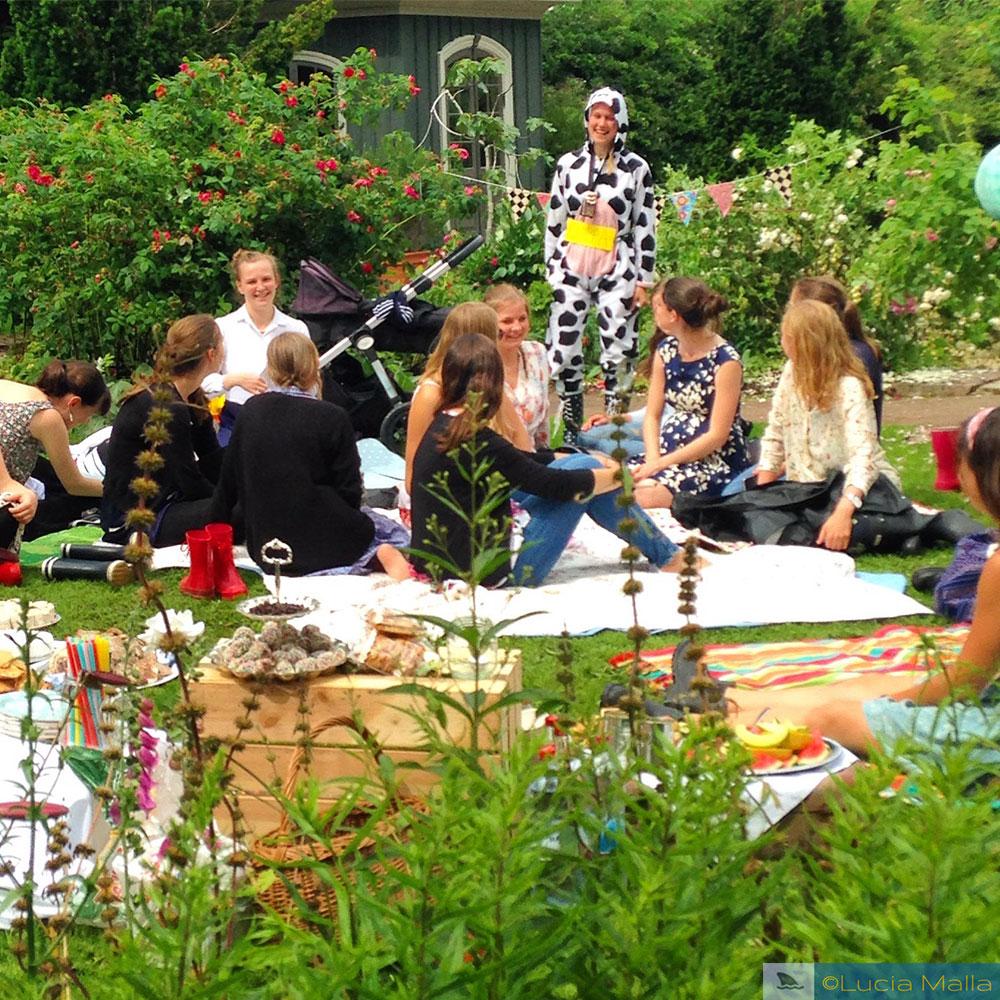 Piquenique no Jardim Bitânico de Gotemburgo