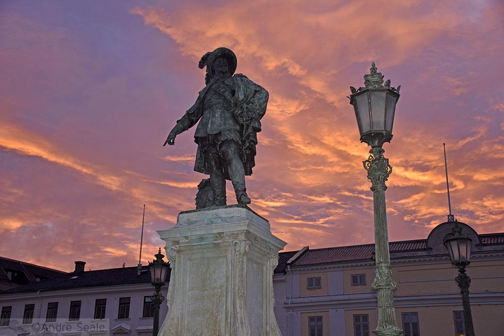 Estátua de Gustaf Adolf