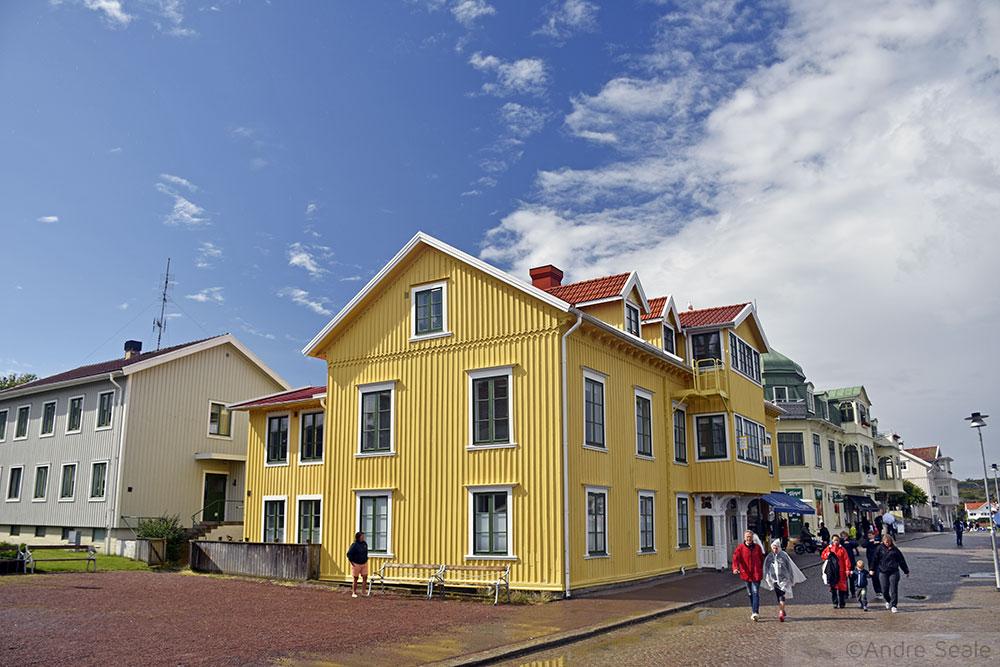 Marstrand - Roteiro na Suécia