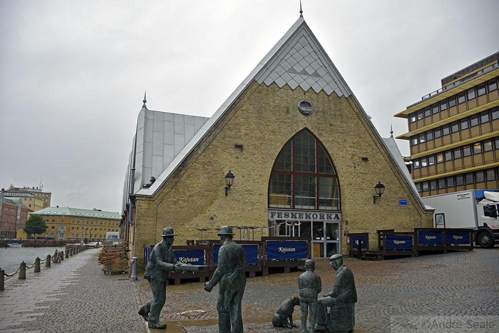 Feskekorka - Mercado de Peixes - Roteiro em Gotemburgo
