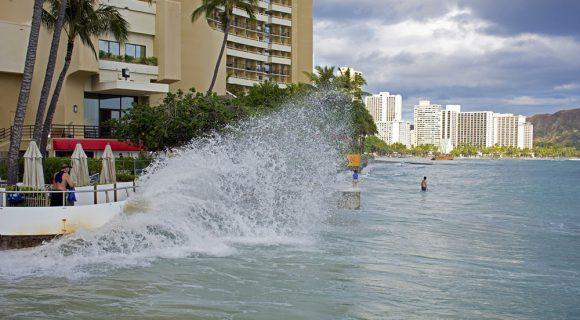 O dia em que a praia de Waikiki desapareceu