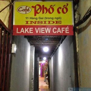Entrada do Café Pho Co
