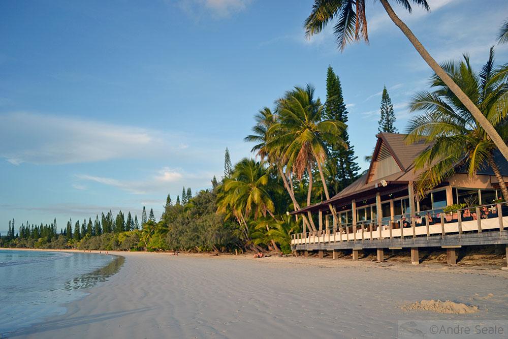 Praia de Kuto ao entardecer - Isle of Pines - Nova Caledônia