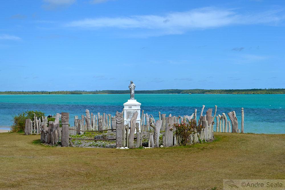 Estátua de St. Maurice - Isle of Pines - Nova Caledônia