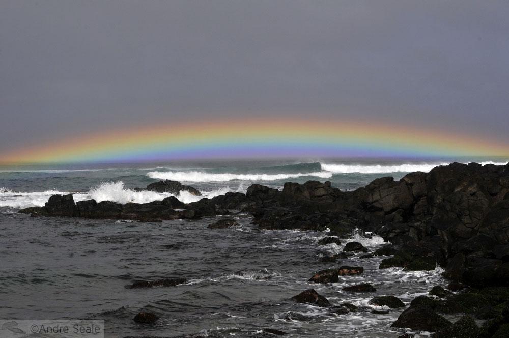 arco-íris - North Shore de Oahu