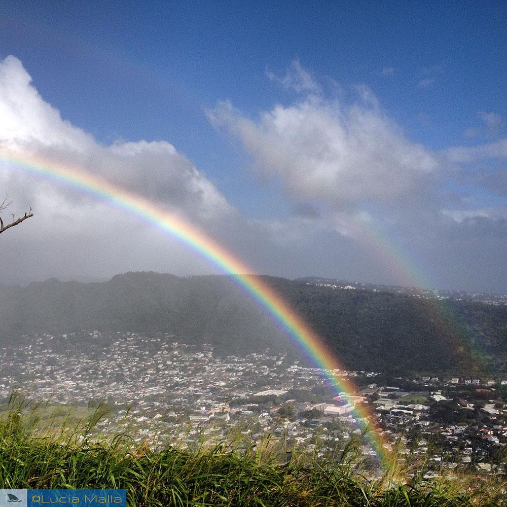 Arco-íris - Vale de Manoa