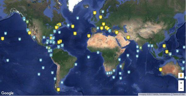 Pontos de esperança nos oceanos - hope spots