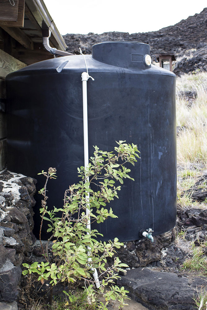 Coleta de água - tanque