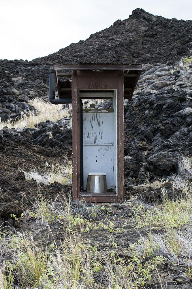 Banheiro de compostagem