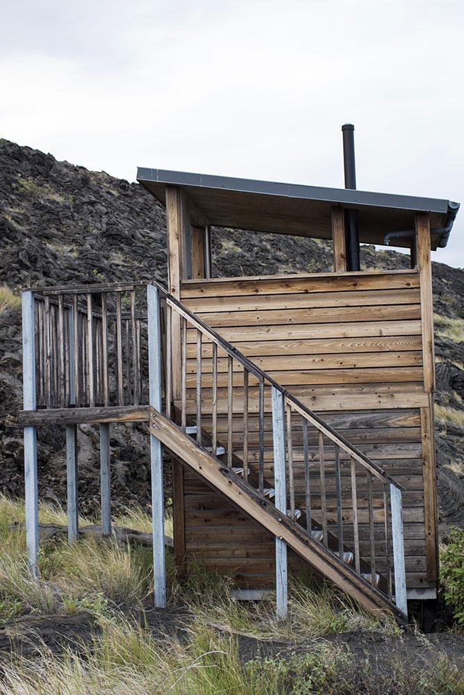 Novo banheiro de compostagem - trilha de Ka'aha