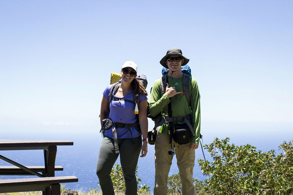 Hikers - Big Island