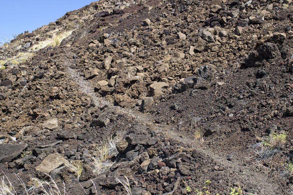 Inclinação do terreno - Big Island