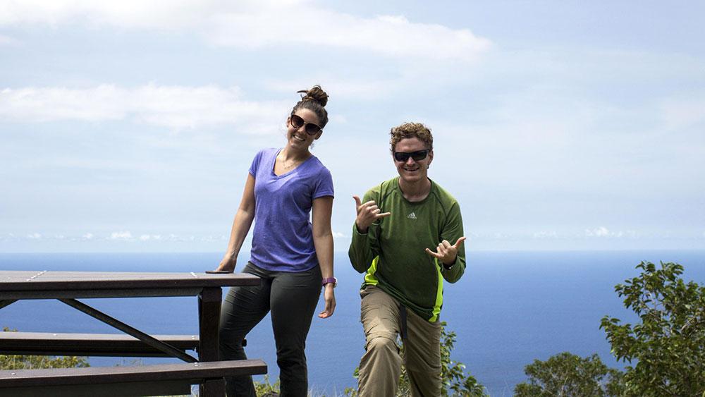 Hikers - Big Island