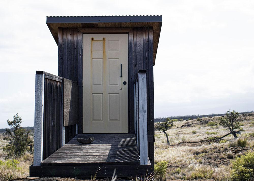 Banheiro de compostagem - trilha de Pepeiao