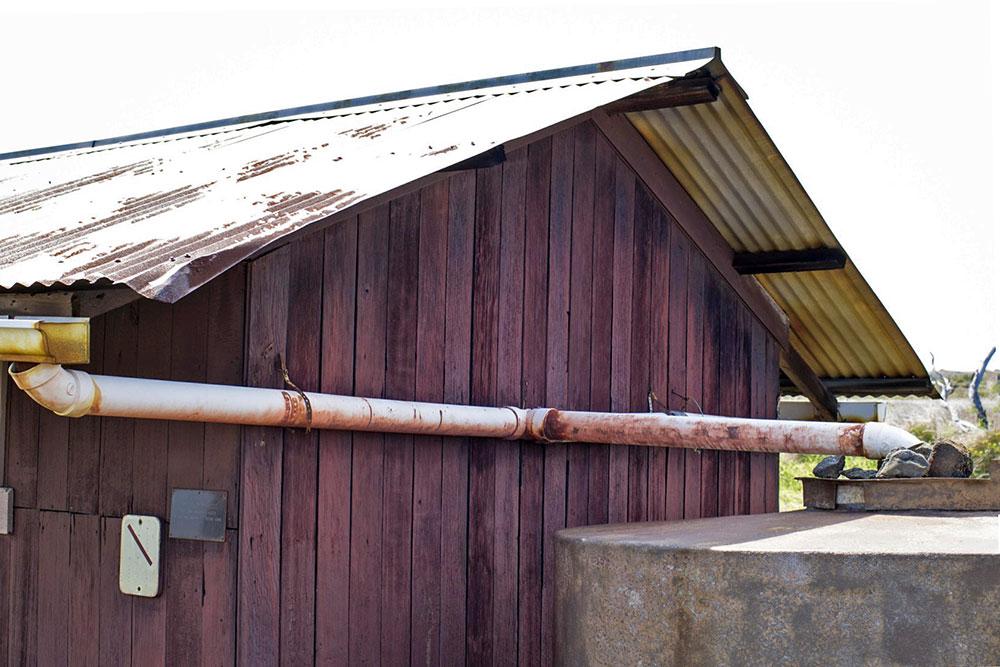 Coleta de água da chuva - Big Island - Havaí