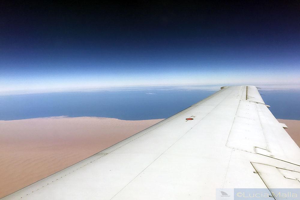 Oceano Atlântico - costa da Namíbia