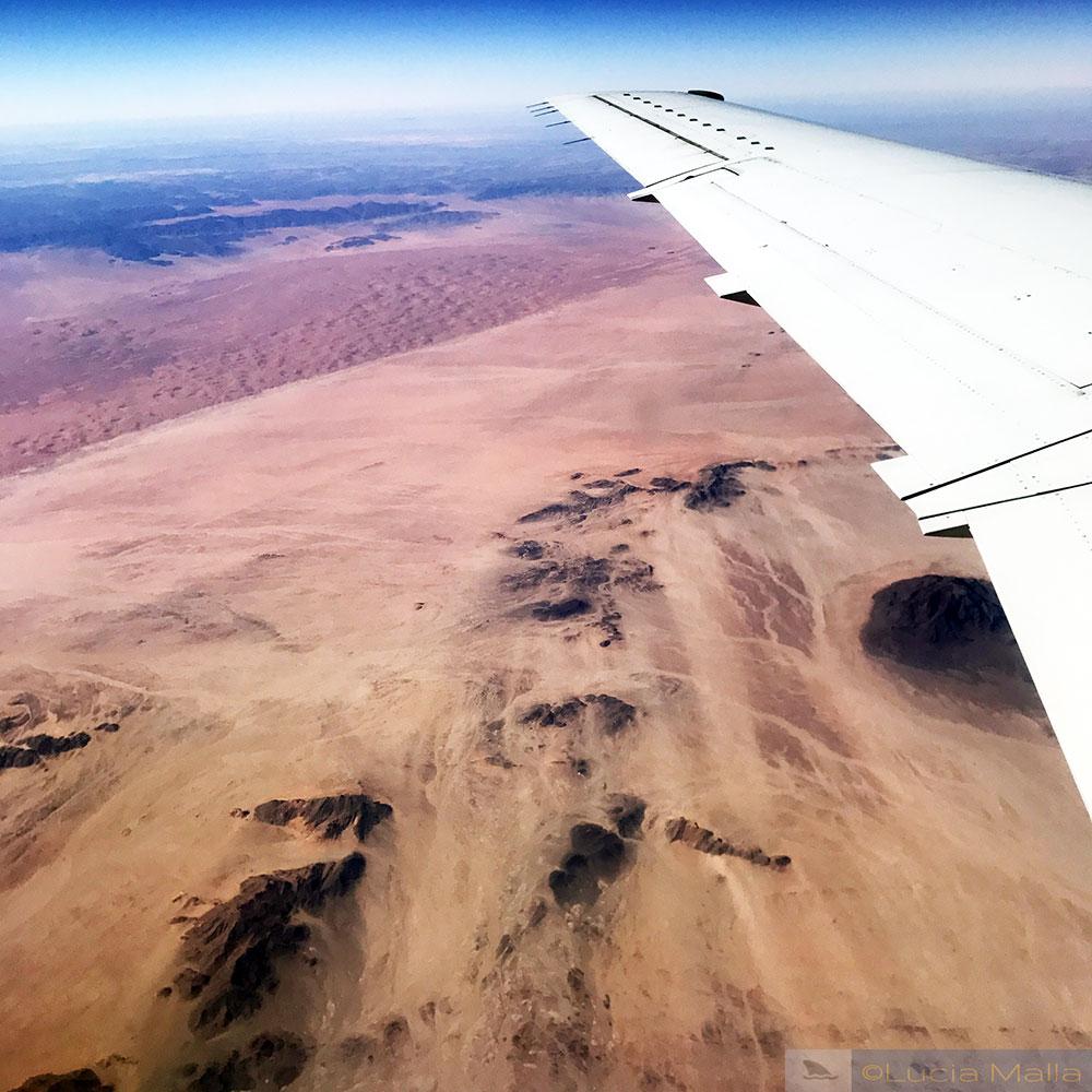 Vôo Walvis Bay - Cidade do Cabo - Deserto da Namíbia