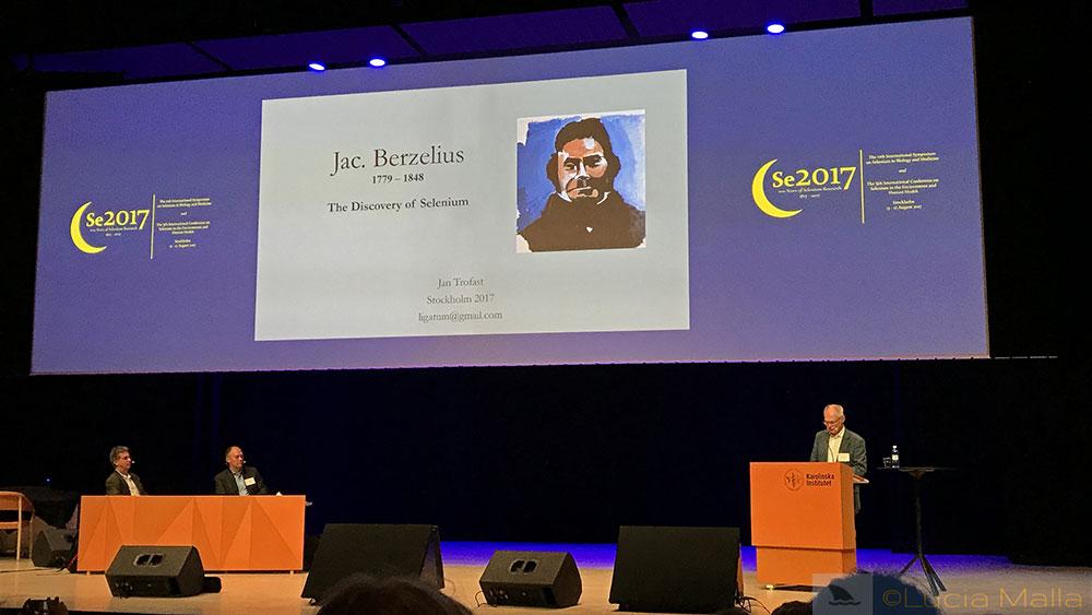 Aula Medica - Auditório do prêmio Nobel - Berzelius