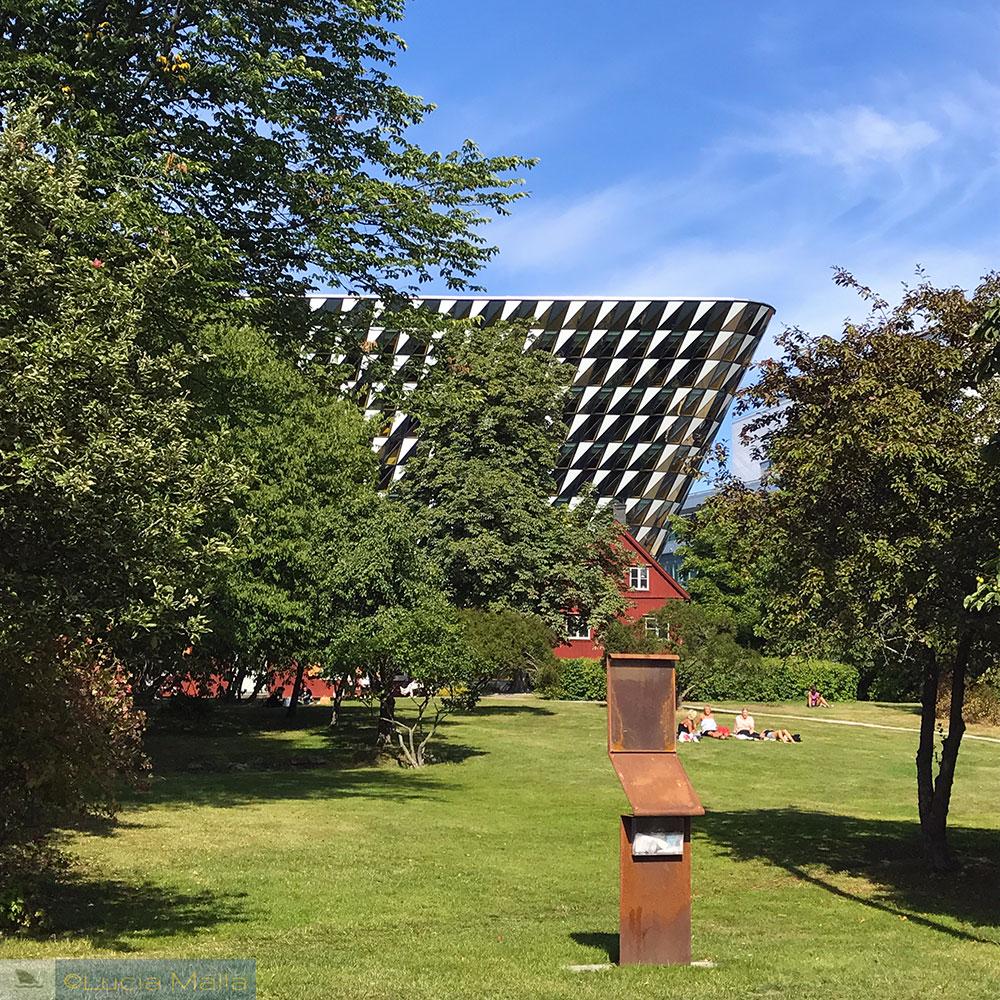 Nos passos de Berzelius e do Nobel em Estocolmo - campus do Karolinska Instituet