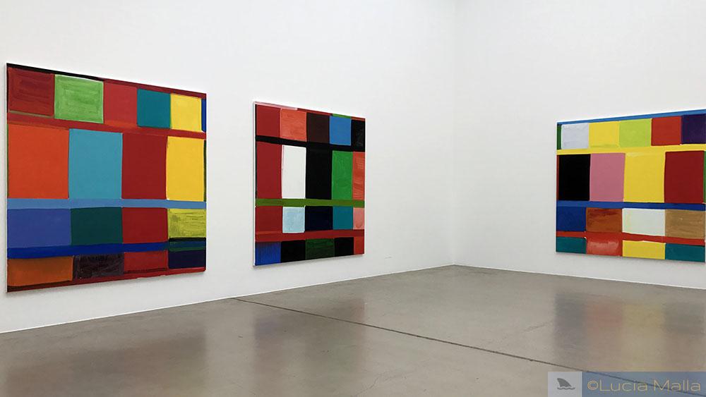 Pinturas de Stanley Whitney - arte contemporânea