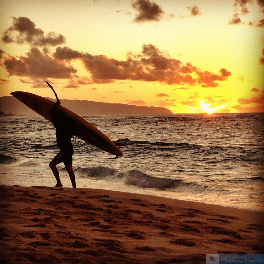 Por do sol - Sunset Beach