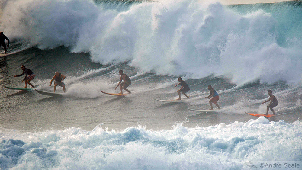 Guia da Malla do North Shore de Oahu - surfe em Waimea Bay