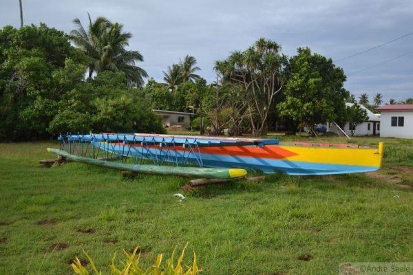 Vakala - canoa tradicional de Wallis & Futuna
