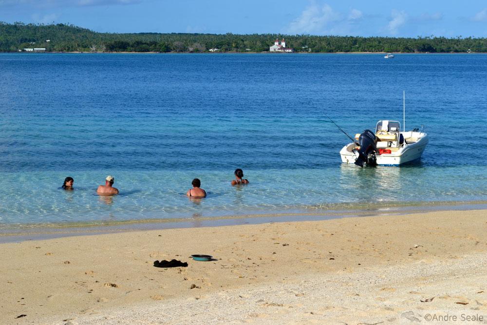 Praia de snorkel em Nukuatea - Wallis e Futuna