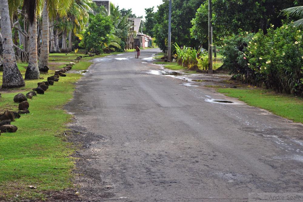 Avenida beira-mar de Matautu - Wallis & Futuna