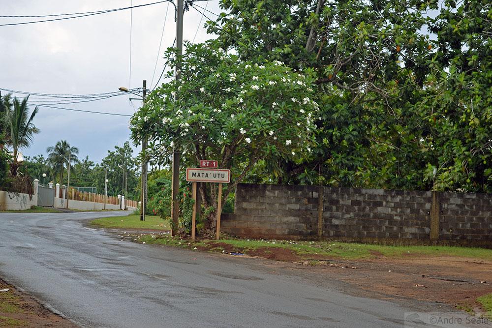 Rua em Mata-Utu