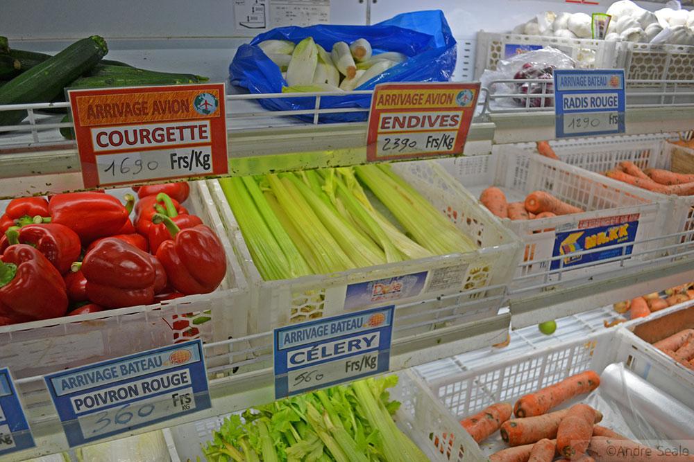 Supermercado em Wallis Island
