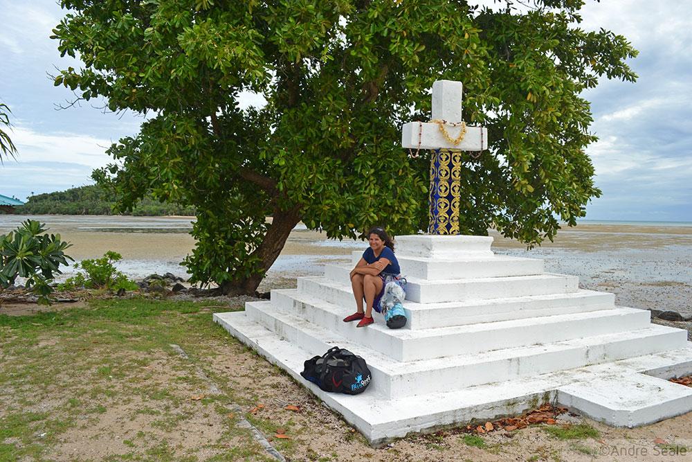 Altar religioso em motu