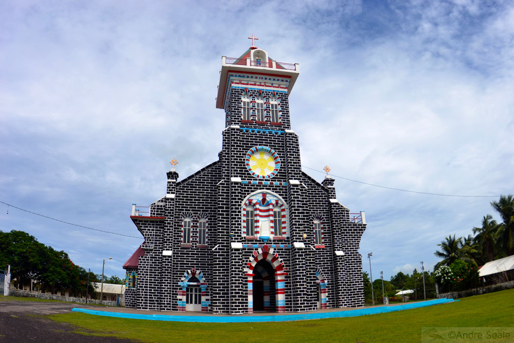 Igreja de São Josee - Wallis Island - Wallis e Futuna