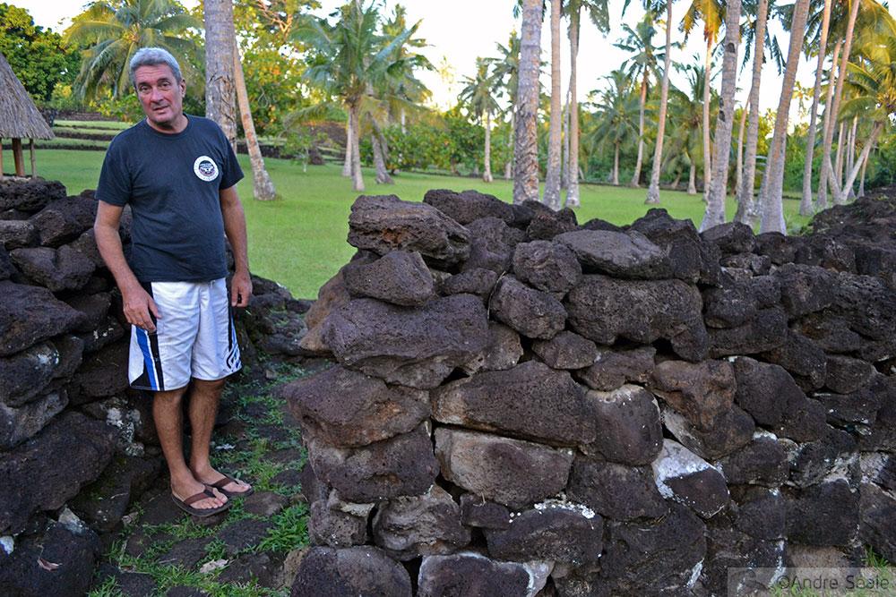 Muro do forte tongano