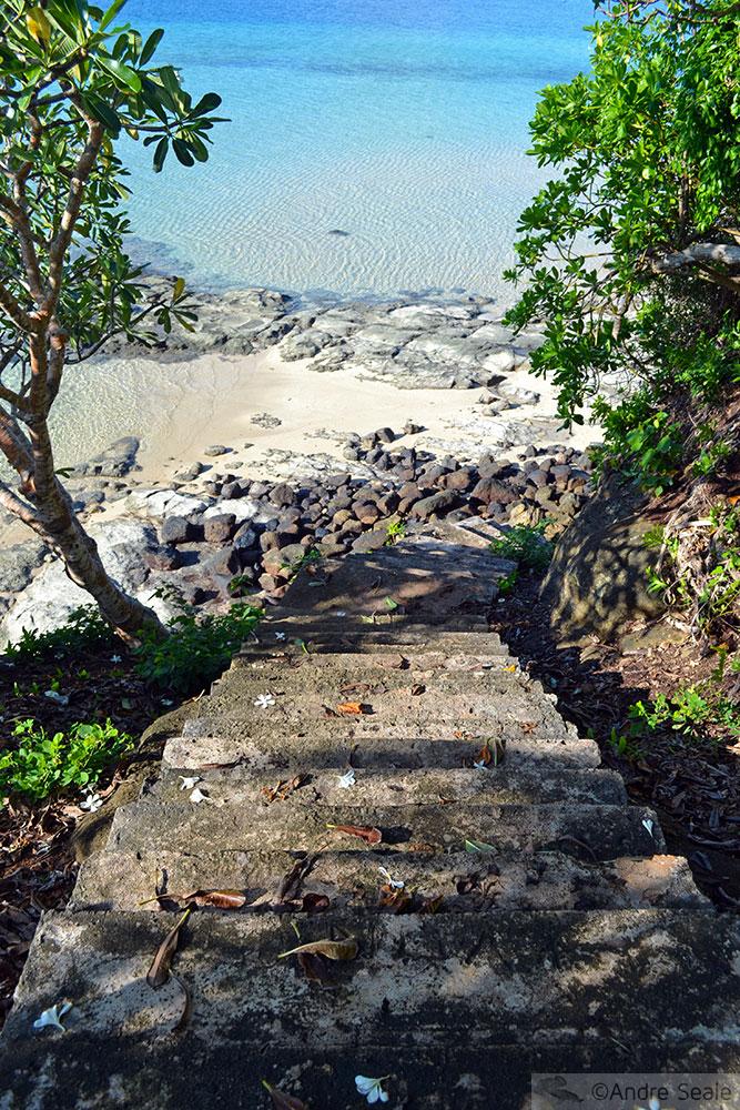 Escada em Nukuatea - Wallis & Futuna