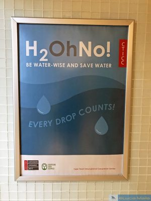 Acabou a água da Cidade do Cabo