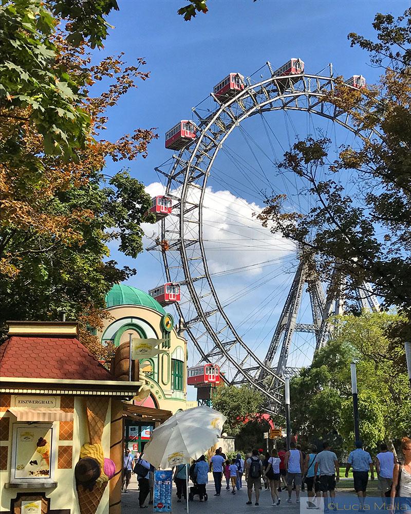 Riesenrad Roda Gigante - Viena - Antes do Amanhecer