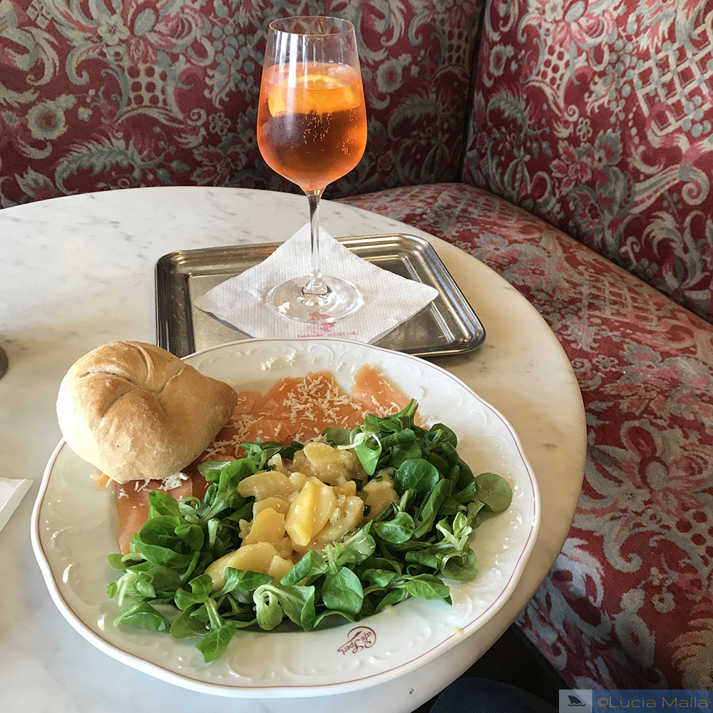 Almoço no Café Sperl