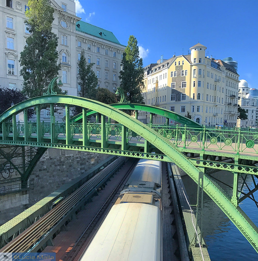 Zollamtsteg Bridge - Viena