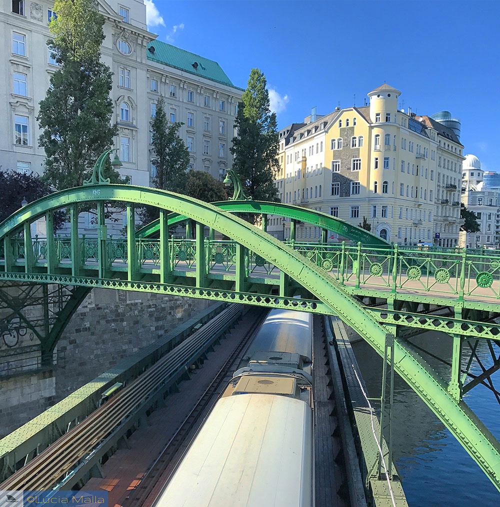 Zollamtsteg Bridge - Viena